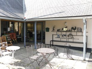 Dean Forge Showroom Entrance Buckfastleigh Devon