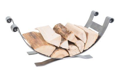 Dean-Forge-Handcrafted-Low cradle-log-holder