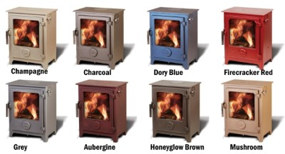 Dean Forge Stove Colour Options