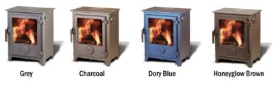 Dean Forge Clearburn Stove Colours