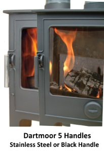 Dartmoor Wood Burning Stoves handles