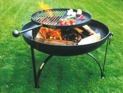 Firepit with Swing Arm