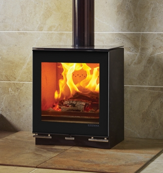 Vision-Midi-woodburning-with-glass-top-plate-and-glass-rear-exit-flue