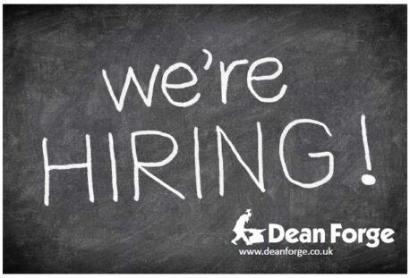 we're hiring at dean forge
