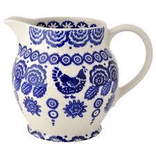 Emma Bridgewater Blue Hen-jug