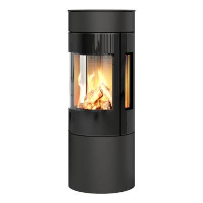 Viva L 120 Gas Black Glass Side Glass