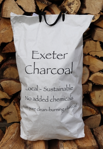 Exeter Charcoal for sale. Approx 3kg bags.