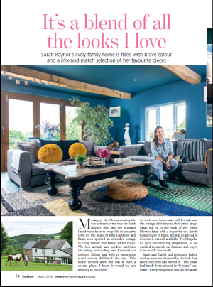 Your Home Article pg 1 Sarah Raynor March 18 issue