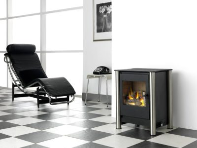 Esse-525-Flueless-Gas-Stove-Chrome-Dean-Forge-Exeter