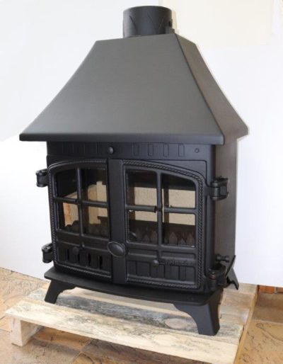 Hunter-Herald-8-11kW-Multi-fuel-stove-Canopy-Top