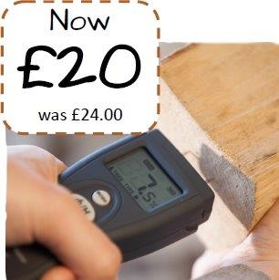 Now £20 was £24.00 Moisture Meter Dean Forge