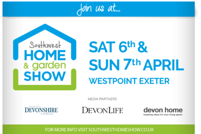 South West Home and Garden Show, Westpoint, Exeter 7th & 8th April 2019